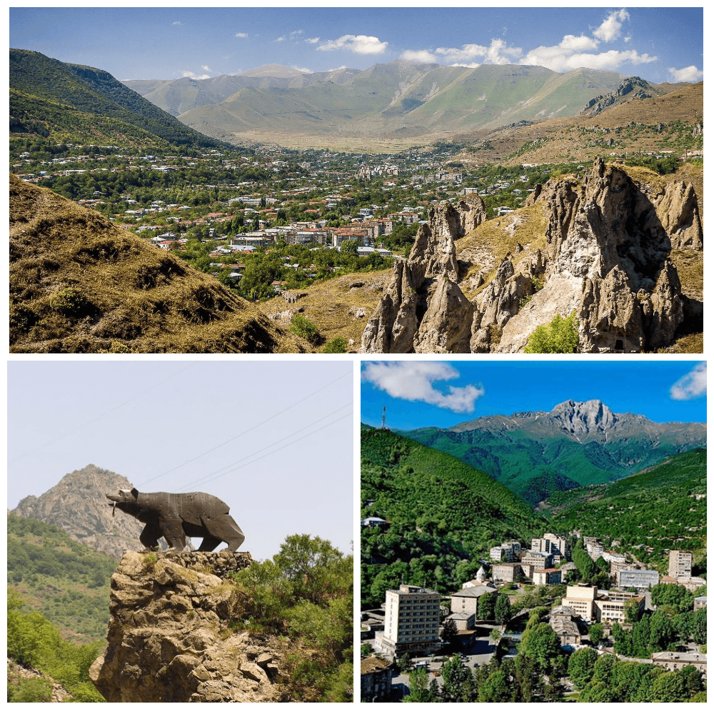 Пеноксал Форте в городах Горис, Капан и Каджаран